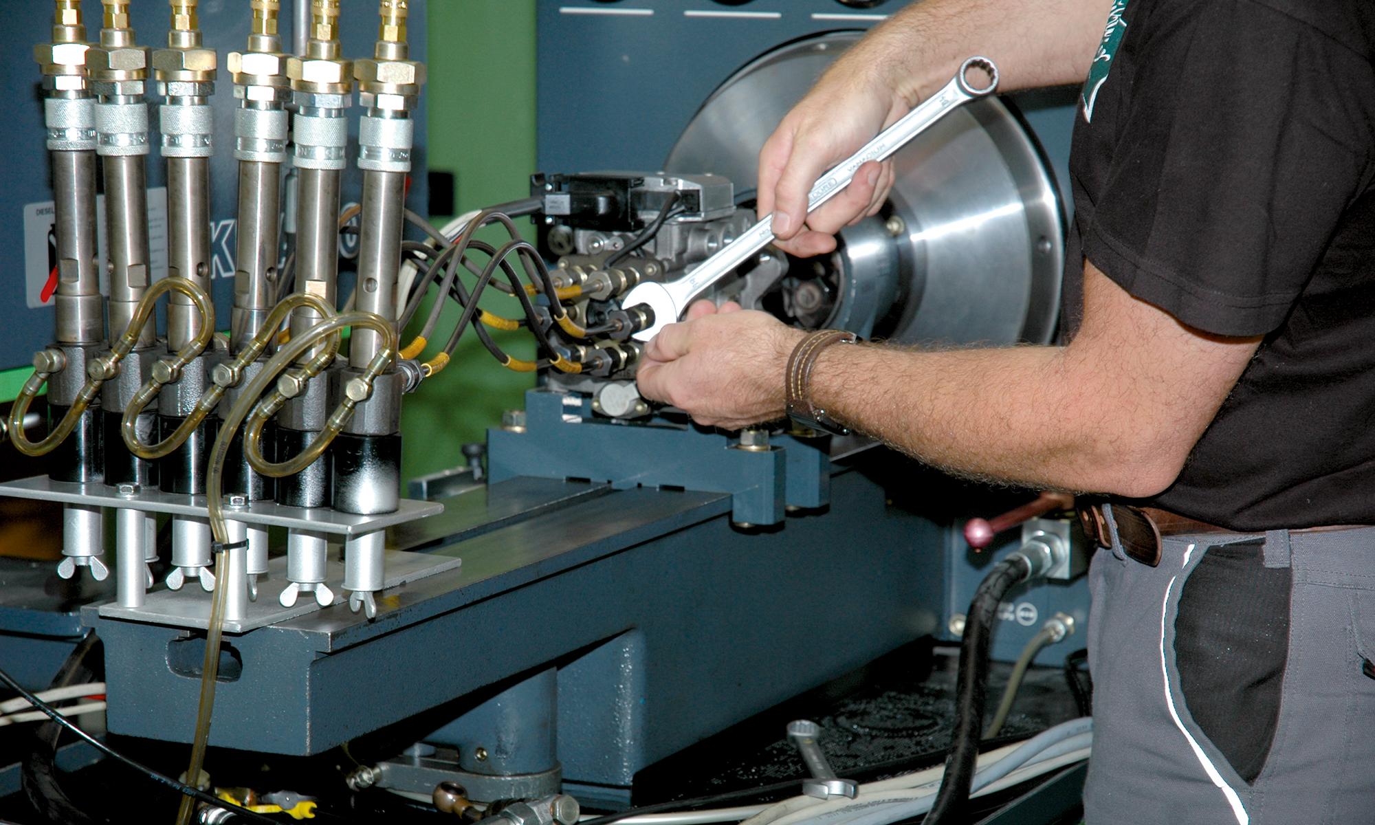 Prüfstand Diesel Bosch 815